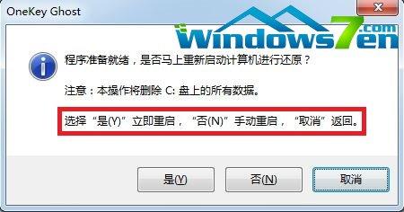 详细的windows7系统重装步骤